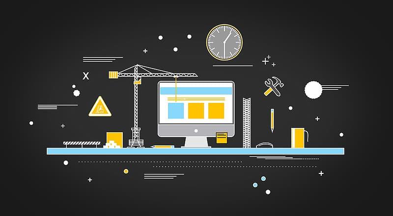 website-vs-construction